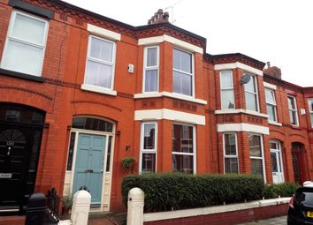 Thumbnail 3 bedroom terraced house to rent in Centreville Road, Liverpool