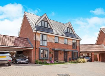 Thumbnail 3 bed semi-detached house for sale in York Drive, Upper Cambourne, Cambridge