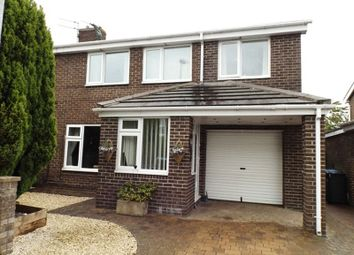 Thumbnail 4 bed semi-detached house for sale in The Gables, Widdrington, Morpeth