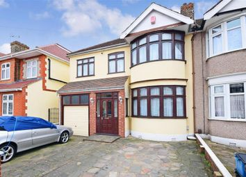 Thumbnail 4 bed end terrace house for sale in Norbury Gardens, Romford, Essex