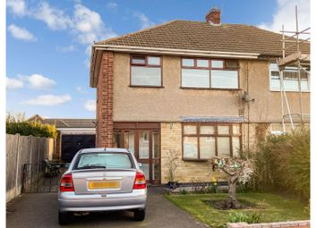 Thumbnail 3 bed semi-detached house for sale in Valiant Close, Glenfield