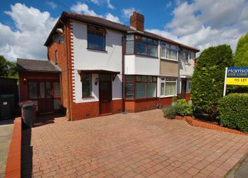 Thumbnail 3 bed semi-detached house to rent in Tempest Road, Chew Moor, Leafy Lostock, Bolton, Lancashire.