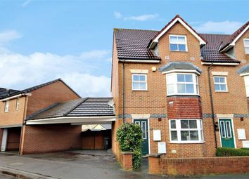 Thumbnail 4 bed end terrace house for sale in St Austell Way, Churchward, Swindon
