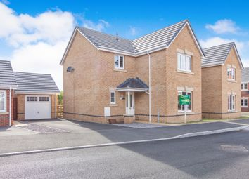 Thumbnail 4 bed detached house for sale in St Ilids Meadow, Llanharan, Pontyclun