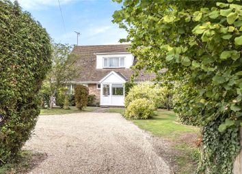 Thumbnail 4 bed detached house for sale in Downs Road, South Wonston, Winchester, Hampshire
