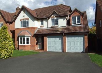 Thumbnail 5 bed detached house for sale in Fishpond Way, Loughborough