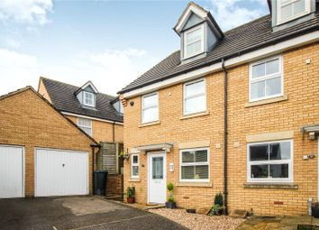 Thumbnail 3 bed semi-detached house for sale in Fulford Close, Bideford, Devon