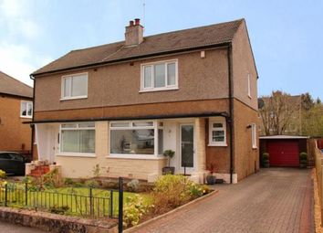 Thumbnail 2 bed semi-detached house for sale in Fraser Avenue, Newton Mearns, Glasgow, East Renfrewshire