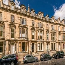 Thumbnail 1 bedroom flat to rent in Learmonth Terrace, West End, Edinburgh