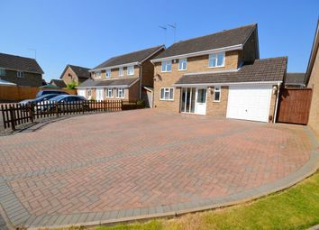 Thumbnail 4 bed detached house for sale in Baunhill Close, Langlands, Northampton