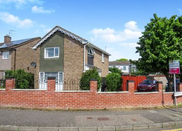 Thumbnail 3 bed detached house for sale in Brookdale Road, Leicester