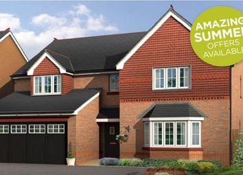 "Thumbnail 5 bed detached house for sale in ""Lincoln"" at Boundary Park, Parkgate, Neston"