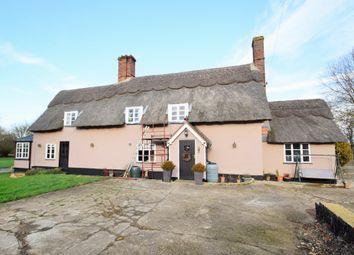 Thumbnail 4 bed farmhouse for sale in Wickham Road, Thwaite, Eye