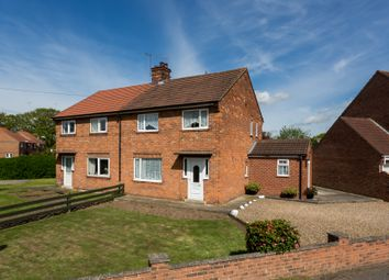 Thumbnail 3 bed semi-detached house for sale in Leasmires Avenue, Easingwold, York