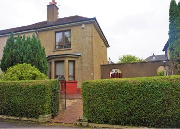 Thumbnail 2 bed end terrace house for sale in Braidcraft Road, Glasgow