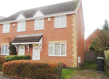 Thumbnail 3 bed semi-detached house to rent in Trefoil Close, Leicester