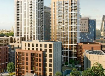 Thumbnail 1 bed flat for sale in The Jacquard Tower, The Silk District, Whitechapel