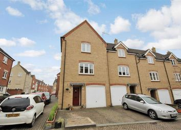Thumbnail 4 bedroom end terrace house for sale in Fitkin Court, Redhouse, Swindon