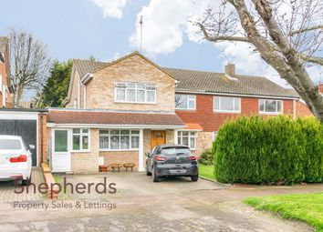 5 bed semi-detached house for sale in High Wood Road, Hoddesdon, Hertfordshire EN11