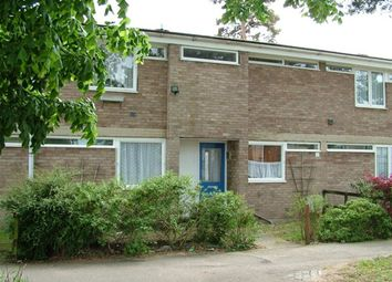 Thumbnail 3 bedroom terraced house to rent in St. Johns Close, Mildenhall, Bury St. Edmunds