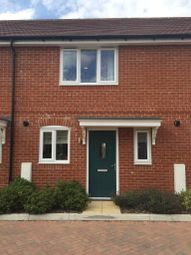 Thumbnail 2 bed terraced house to rent in Sambar Grove, Three Mile Cross, Reading