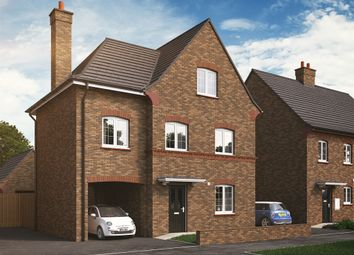 "Thumbnail 4 bedroom detached house for sale in ""The Oakley"" at Kiln Drive, Stewartby, Bedford"