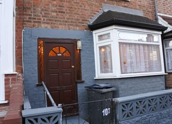Thumbnail 3 bed terraced house to rent in Newton Road, Sparkhill, Birmingham