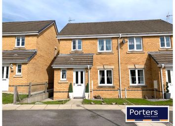 Thumbnail 3 bed semi-detached house for sale in Clos Y Bryn, Tondu, Bridgend