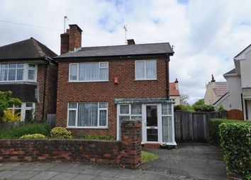Thumbnail 3 bed detached house for sale in Saxon Road, Hoylake, Wirral