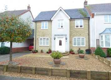 Thumbnail 4 bed semi-detached house for sale in Marston Moretaine, Beds