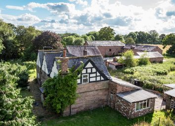 Thumbnail 5 bed barn conversion for sale in Mobberley, Knutsford