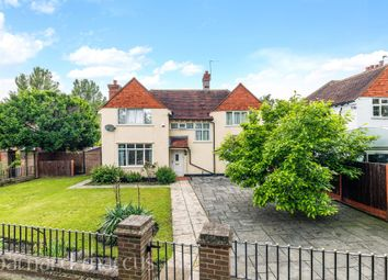 Thumbnail 4 bed detached house for sale in Chessington Road, Ewell, Epsom