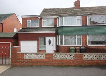 Thumbnail 4 bed semi-detached house for sale in Ayton Avenue, Grangetown, Sunderland