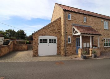 Thumbnail 3 bed semi-detached house for sale in Carpenters Close, Reepham, Lincoln, Lincolnshire