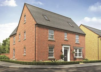 """Thumbnail 5 bed detached house for sale in """"Moorecroft"""" at Burney Drive, Wavendon"""