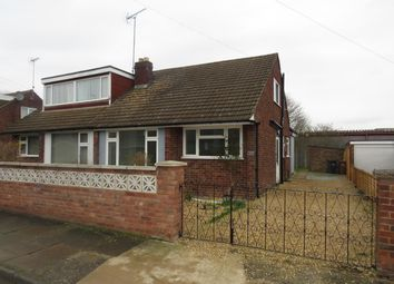 Thumbnail 3 bed semi-detached bungalow to rent in Thirlestane Crescent, Northampton