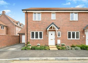 Thumbnail 3 bed end terrace house for sale in Malone Avenue, St Andrews Ridge, Swindon, Wiltshire