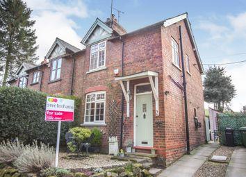 Thumbnail 2 bed semi-detached house for sale in Cuddington Lane, Cuddington, Northwich