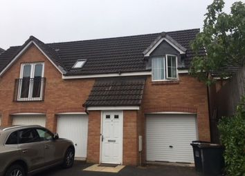 Thumbnail 3 bed flat to rent in Chervil Close, Near Keele, Newcastle - Under - Lyme