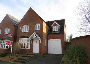 Thumbnail 4 bed detached house to rent in Swan Meadow, Chase Meadow Square, Warwick