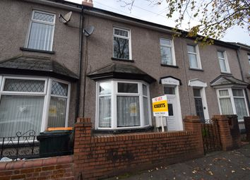 Thumbnail 3 bed terraced house to rent in Sutton Road, Newport