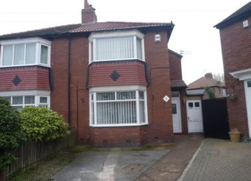 Thumbnail 2 bed semi-detached house for sale in Milton Place, North Shields