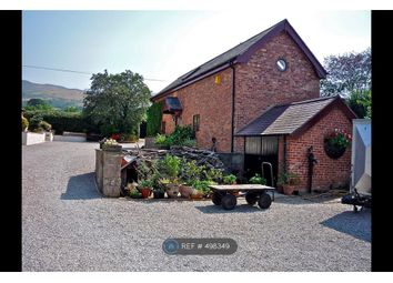 Thumbnail 3 bedroom detached house to rent in Llangynhafal, Ruthin