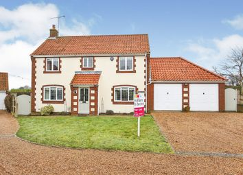 Thumbnail 4 bed detached house for sale in The Street, Marham, King's Lynn