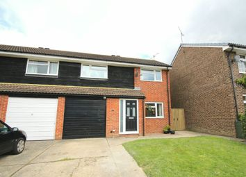 Thumbnail 3 bed semi-detached house for sale in Bluebell Close, Horsham