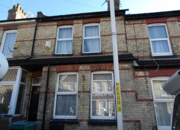 Thumbnail 2 bed terraced house for sale in Grove Road, Folkestone, Kent