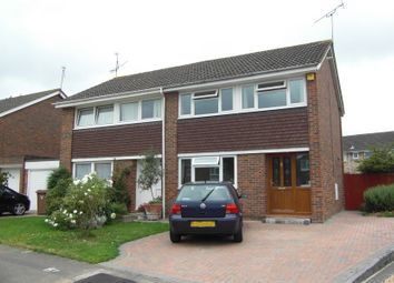 Thumbnail 3 bed semi-detached house to rent in Woodmere Close, Earley, Reading