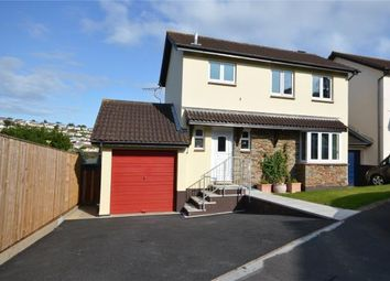 Thumbnail 3 bed detached house for sale in Haytor Close, Teignmouth, Devon