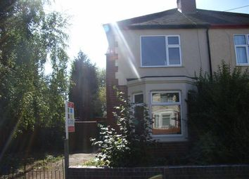 Thumbnail 1 bed flat to rent in Poole Road, Coundon, Coventry