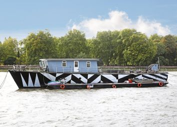 Thumbnail 5 bedroom houseboat for sale in Cadogan Swing Mooring, Chelsea Embankment, Chelsea